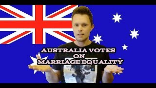 GAY MARRIAGE AUSTRALIA - We Vote On Your Rights