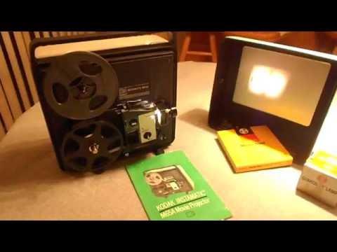 Vintage Kodak Instamatic M65A Movie Projector Super 8 & 8mm Film Projector
