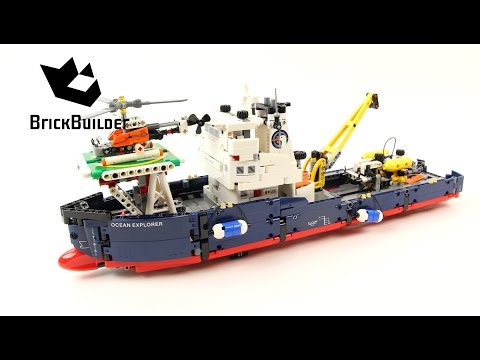 Lego Technic 42064 Ocean Explorer - Lego Speed Build