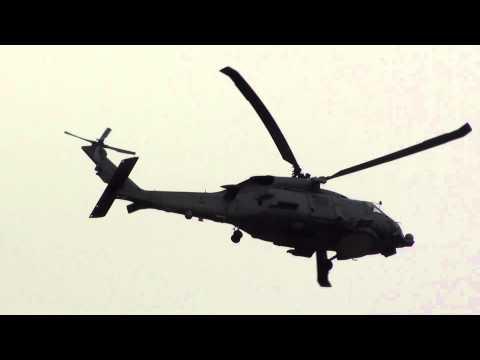 Spain Army Sikorsky SH 60B Seahawk (01-12) Take Off Malaga AGP1