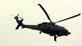 Spain Army Sikorsky SH 60B Seahawk (01-12) Take Off Malaga AGP1