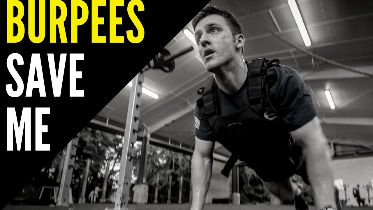 Garage gym workout burpees save me youtube