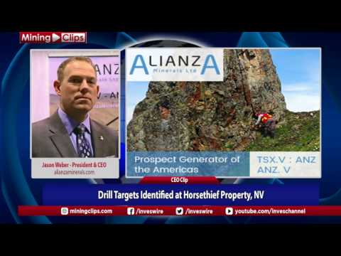 Alianza Mineral De-brief: Drill Targets Identified at Horsethief Property, NV