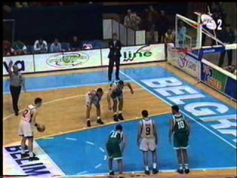 Partizan - Elan Pau Orthez  84:75  (03.10.1996) Euroleague