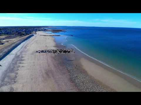 Sandwich MA Boardwalk and Harbor Drone Footage