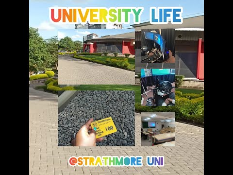 DAY IN THE LIFE OF A UNI STUDENT || STRATHMORE UNIVERSITY