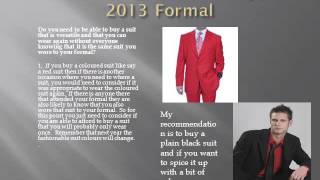 Men's Suits, colours for your 2013 Formal Thumbnail