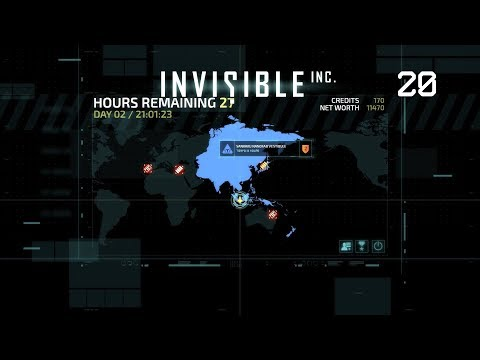 Invisible, Inc. - Let's Play #20 [German]