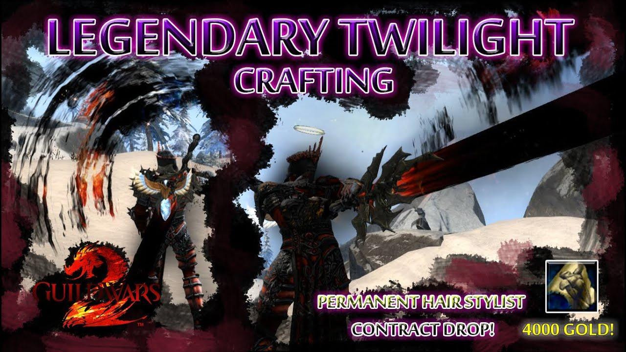 guild wars 2 - legendary twilight craft - stiff dog's permanent