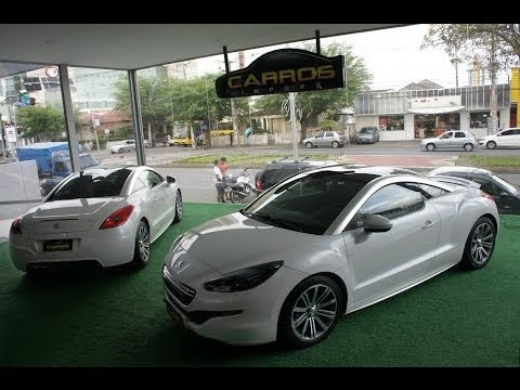 Peugeot RCZ em detalhes Machines Brazil
