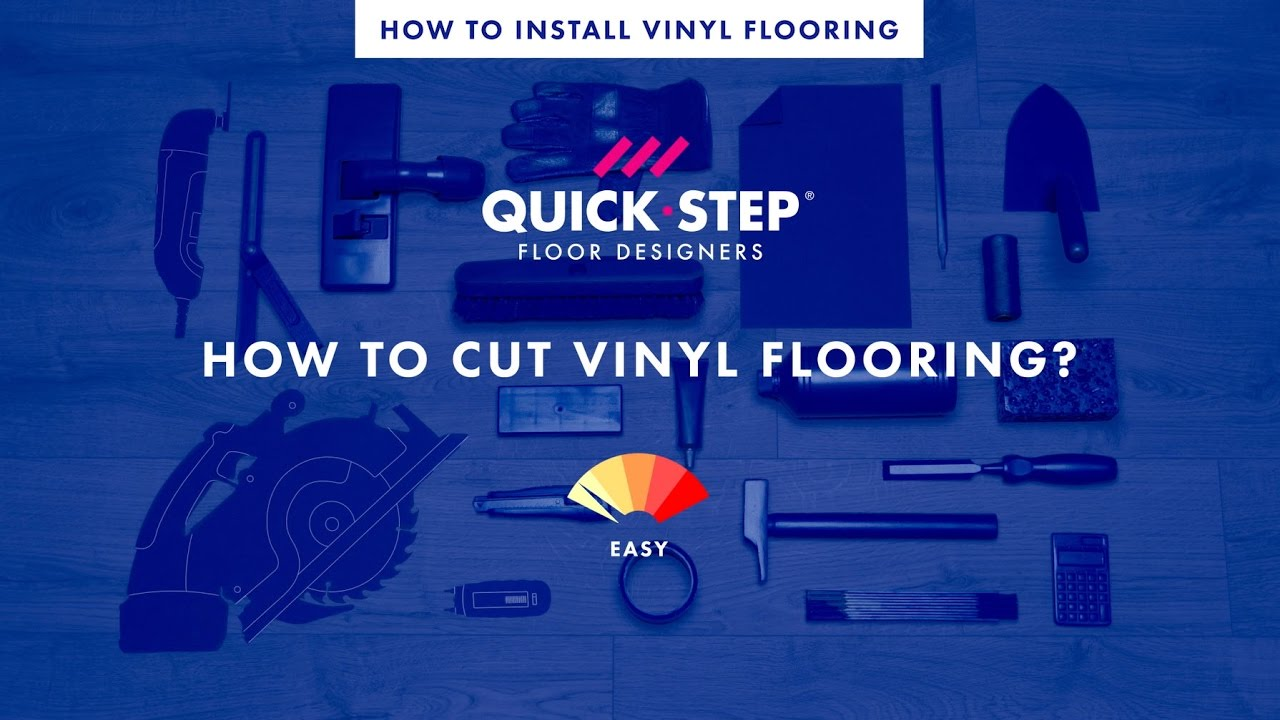 How To Cut Vinyl Flooring Tutorial By QuickStep YouTube - Best tool for cutting vinyl plank flooring