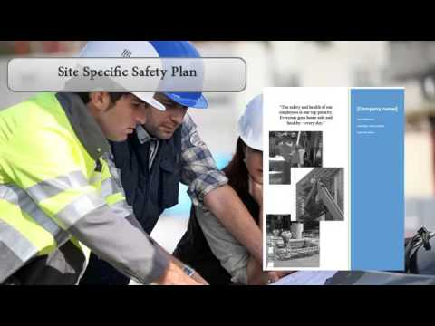 Construction Safety and Health Plan Preview YouTube – Job Site Specific Safety Plan
