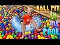 Swimming in a Ball Pit Pool!