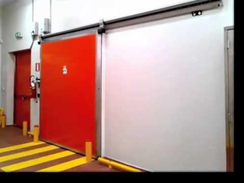 Portes pour Chambres Froides Industrielles - YouTube