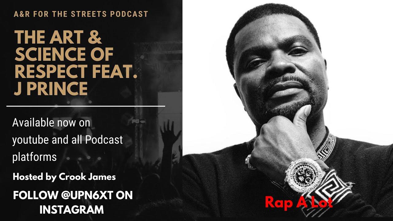 J Prince Talks Drake, new wine, Mental health, how rappers should move, Rap-A-Lot Records, & More