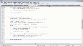 Создание движка. ADMIN панель 5.10