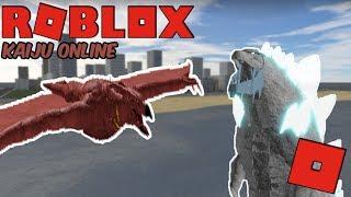 Roblox Kaiju Online - Titanus Rodan está llegando! + ¡Compra de Godzilla congelado!