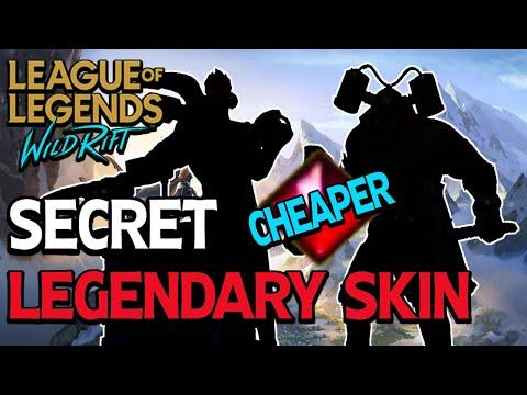 Hidden Legendary Skin (Cheaper) | League Of Legends : Wild Rift