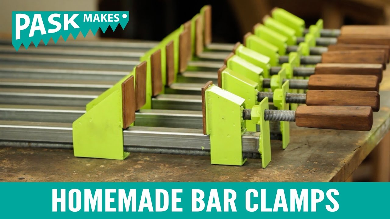Types Of Clamps >> Homemade Bar Clamps - YouTube