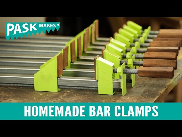 Homemade Bar Clamps: 8 Steps (with Pictures)
