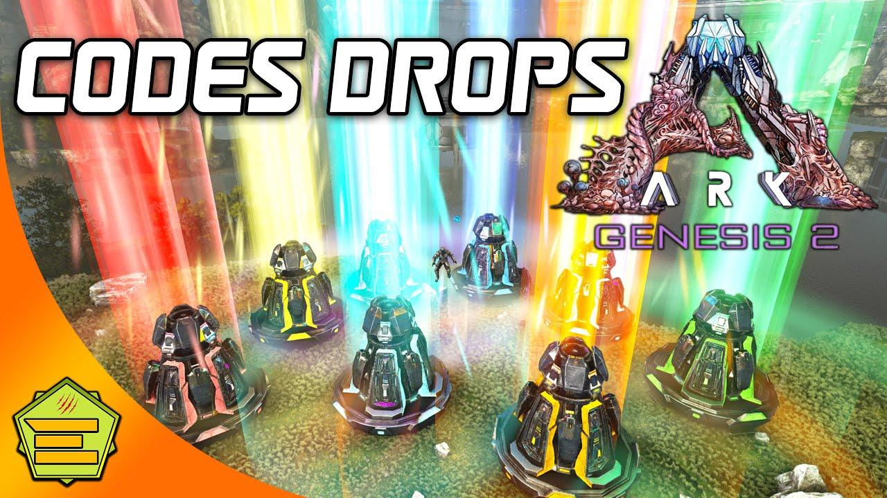 Codes Drops (8 balises) - ARK Genesis 2 - PS/PC/XBOX