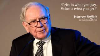 Listen to Warren Buffett