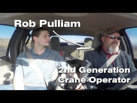 Becoming a Crane Operator with Rob Pulliam - Crane Rental Podcast E5 - 4K