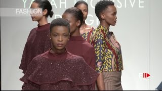 YADAH EXCLUSIVE DESIGNS Fall Winter 2017 2018 SAFW by Fashion Channel