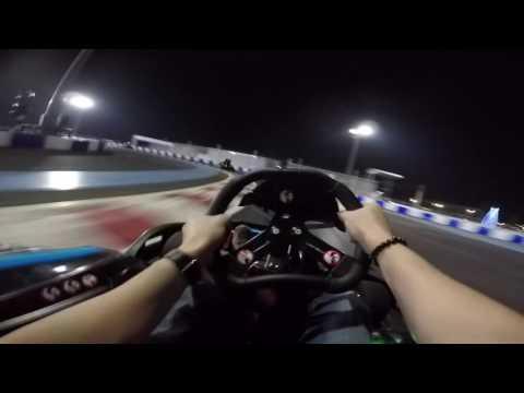 Go-kart night with the boys
