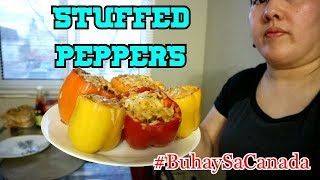 HOW TO COOK STUFFED PEPPERS (CALGARY, CANADA)
