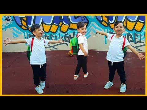 Yankı Okula Başladı ve Yankı'nın Okuldaki İlk Günü l Çocuk Videosu l Prens Yankı