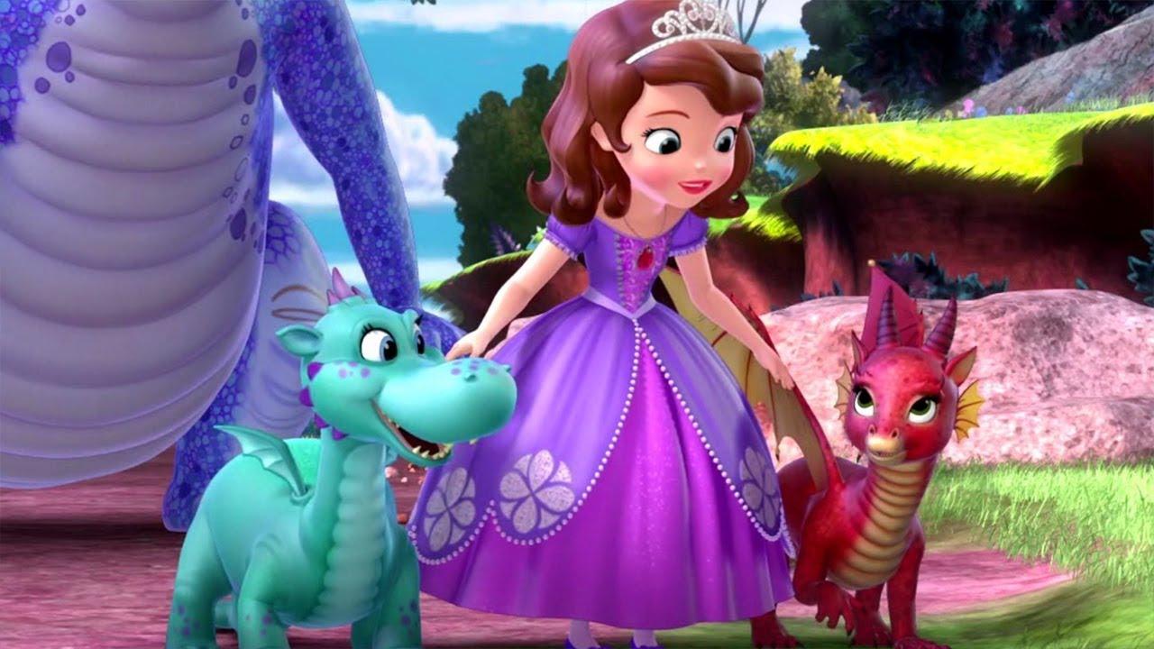 Mi Mejor Amiga Dragona La Princesa Sofia En Español Disney Junior Dibujos Animados