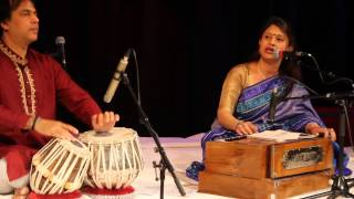 Sumana Basu performing in World Poetry Indian Classical Music Festival