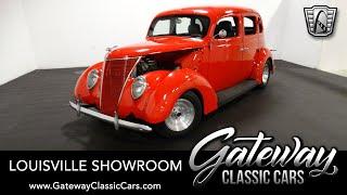 1937 Ford Slant Back Sedan - Stock #2221 - Gateway Classic Cars of Louisville