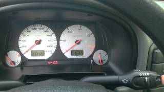 VW Caddy mk2 1.9 SDI średnie spalanie MFA / Average fuel consumption Thumbnail