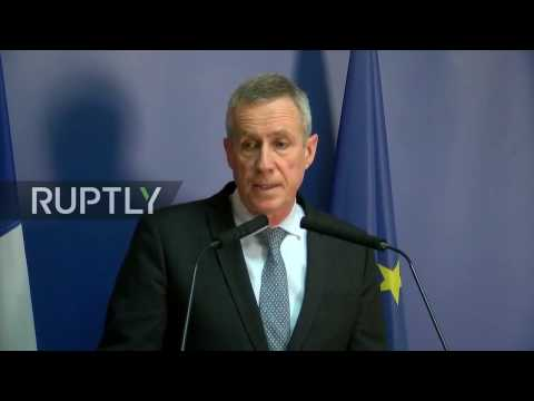 LIVE: French prosecutor holds press conference on Champs Elysees shooting