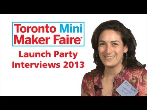 Adriana Ieraci - Toronto Maker Faire Interview