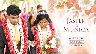 Jasper & Monica Wedding | July 14,2021 | Madurai