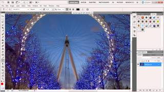 How to work with application bar in Adobe Photoshop