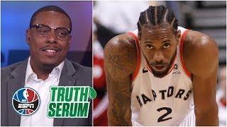 Paul Pierce better than Kawhi Leonard? Pierce answers the question   Truth Serum   NBA Countdown
