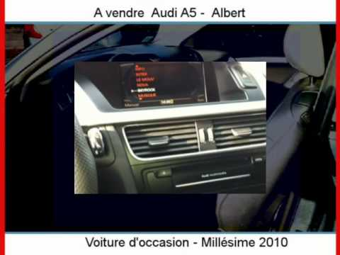 achat vente une audi a5 albert somme youtube. Black Bedroom Furniture Sets. Home Design Ideas