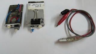 самодельный  фонарик из батареи от сотового телефона | homemade flashlight(http://goo.gl/hwSHgV светодиоды купленные на алиекспресс за 0.51 $ светодиод теплого свечения 1 Вт. 350 мА. 80-90 люм. радиат..., 2015-03-22T12:48:24.000Z)