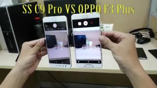 vuclip Thử nghiệm chống rung trên Galaxy C9 Pro & OPPO F3 Plus
