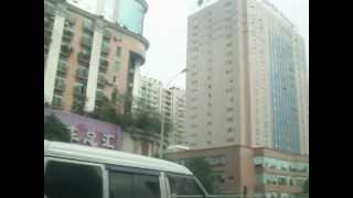 CHENGDU SICHUAN (china) way to airport