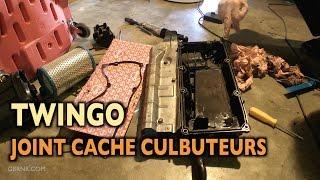 ♨️ Remplacement joint cache culbuteurs Twingo ✅