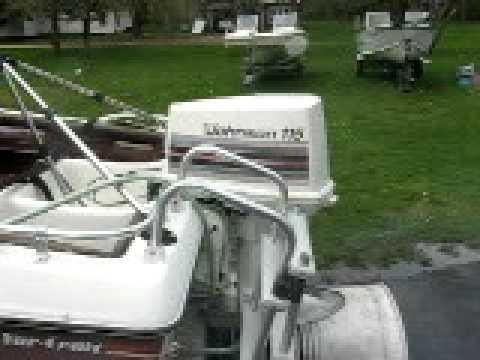 007 1982 115 Hp Johnson Outboard Motor Youtube