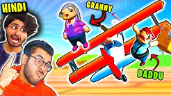 GRANNY Flying Plane ✈️!! Hindi Hitesh KS & QuasarGames