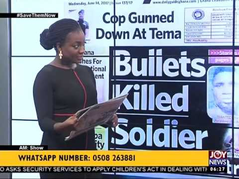 AM Show Newspaper Headlines on Joy News (14-6-17)