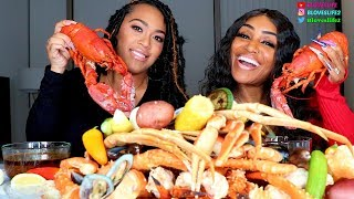 Seafood Boil with Nia Riley from Marriage Boot Camp and Love & Hip Hop