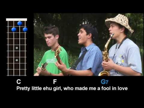 Kolohe Kai - Ehu Girl (Ukulele Play-Along!)